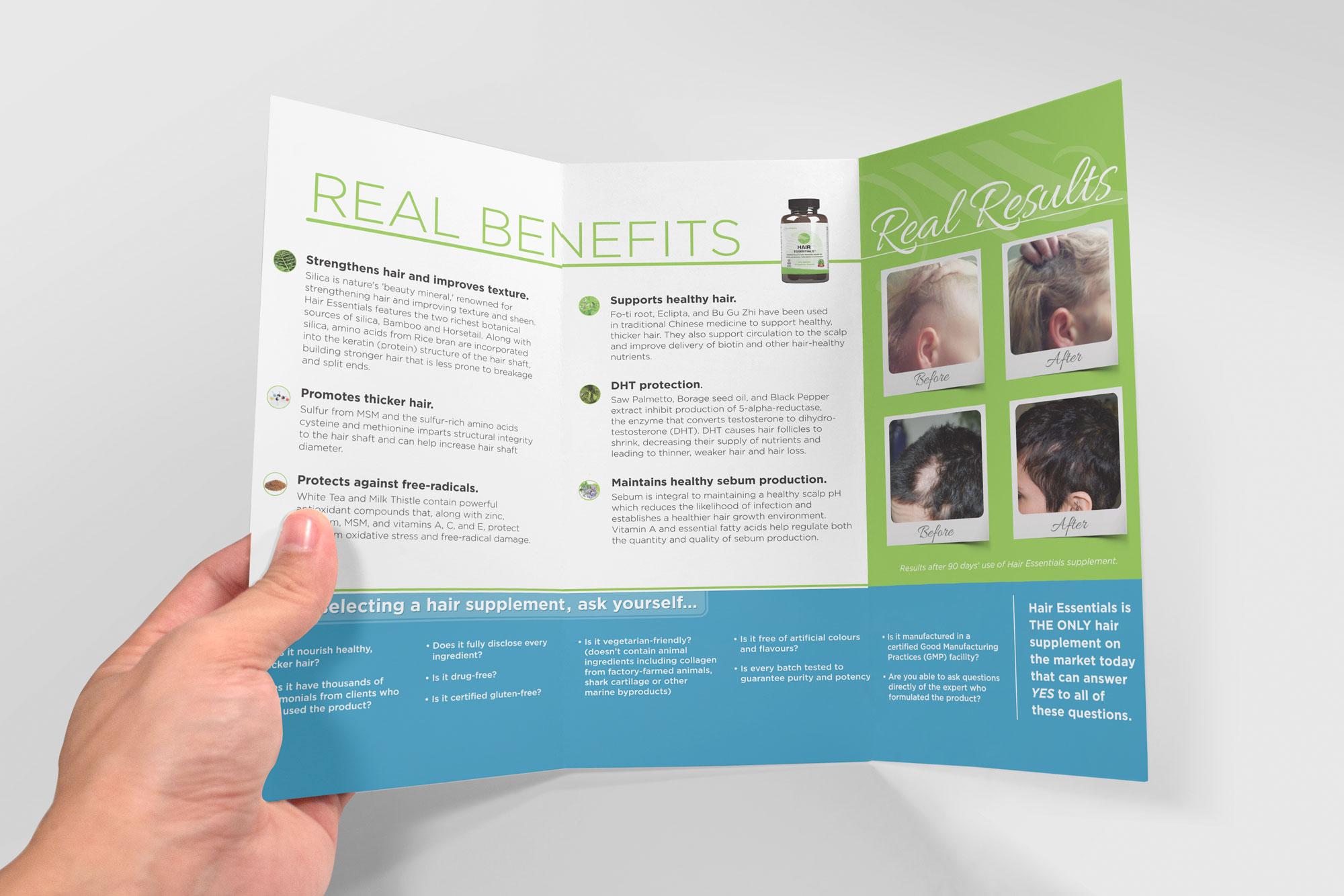brochure inside layout