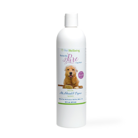 dog shampoo label design