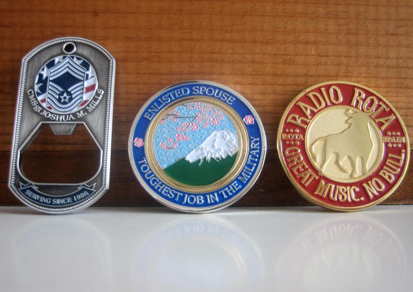 challenge coin design