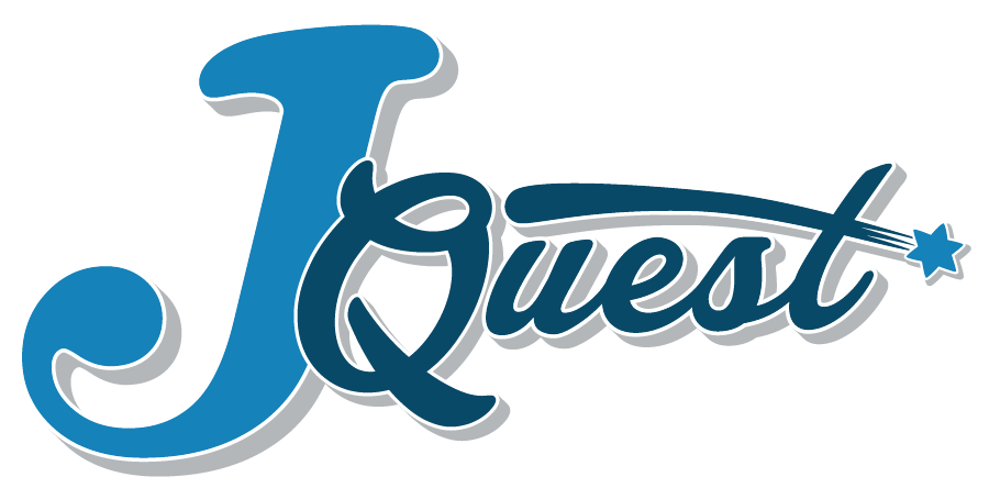 J Quest logo and branding