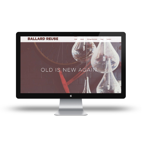 ballard reuse website design